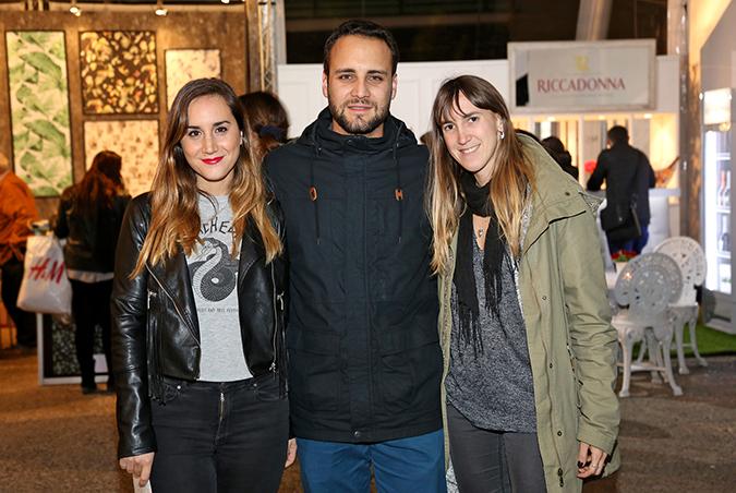 Michelle Thomas, Sebastián Pérez, Dominga González