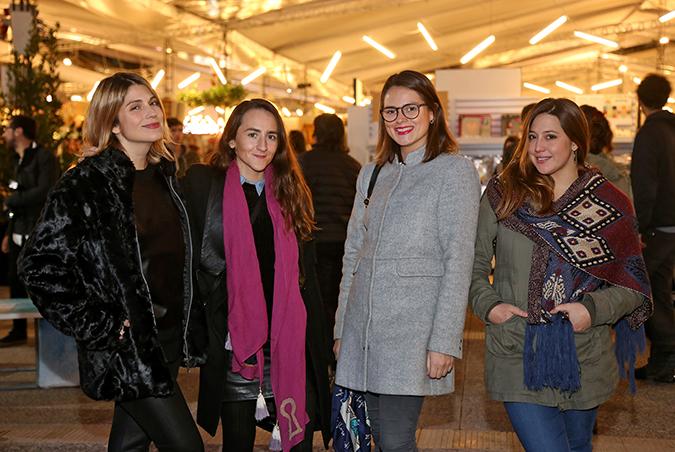 Veronica Calabi, Mariana Mora, María Ignacia Davis, Trinidad Barros