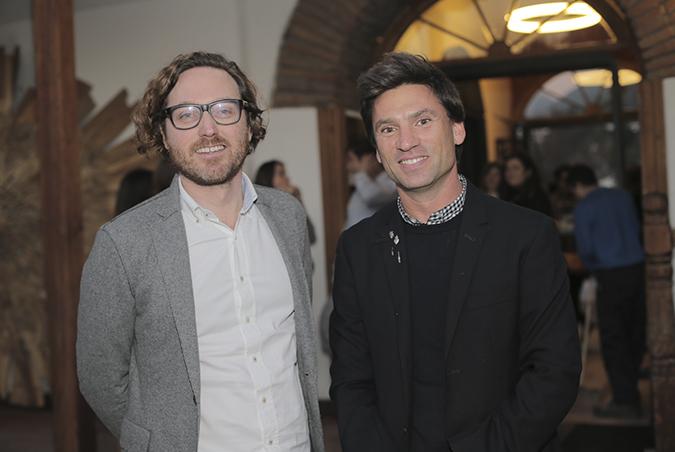 Germán Margozzini y Pablo Bagmara