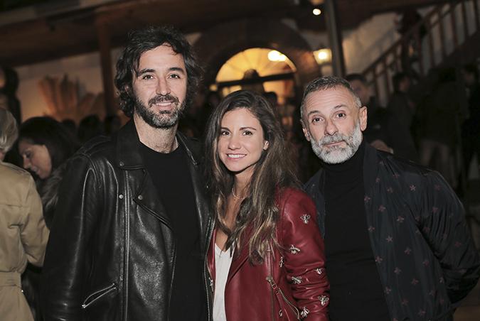 Gonzalo Saavedra, Karyn Coo y Luis Bellocchio