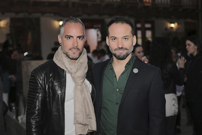 Guillermo Torres y Roberto Cancino