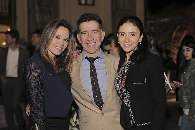 Ivana Lejonagoitía, René M. Barceló y Teresa Piemonte