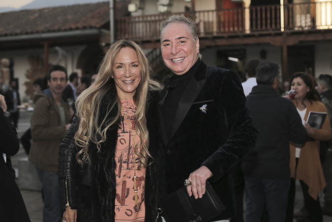 Mariana de Nadai y Julio Maturana