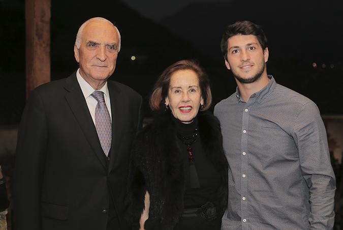 Mario Agliati, Lucía Gallo y Vicente Brusadelli