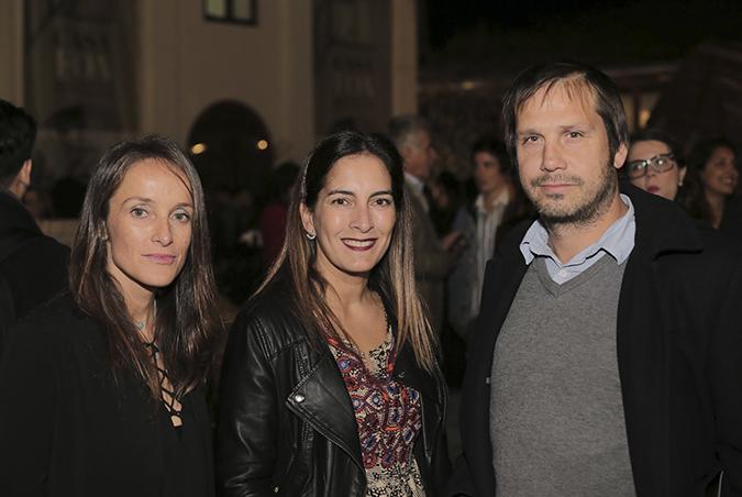 Paula Echeverría, Carola Escobar y Nicolás López
