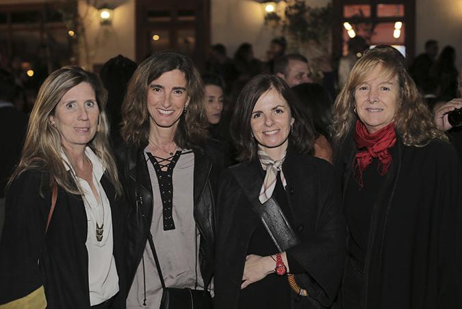 Paula Rondinelli, Javiera Frías, Lorena Raimann y Sandra Gianmerini