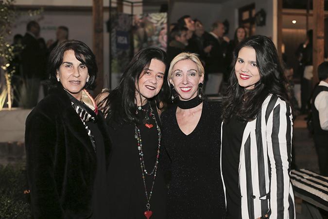 Raquel Robredo, Paula Aguirre, Ana Astudillo y Sofía Robredo