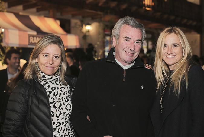 Soledad Larrondo, Andrés García Huidobro y Bárbara Copetta