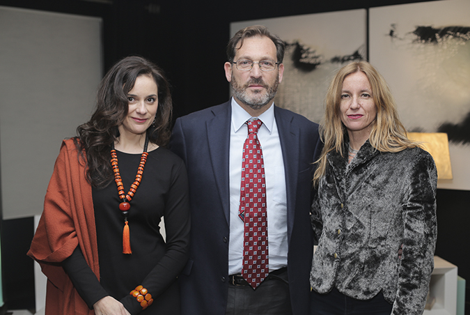 Vanessa Mac-Aullife, Fernanda Concha y Katja Berger