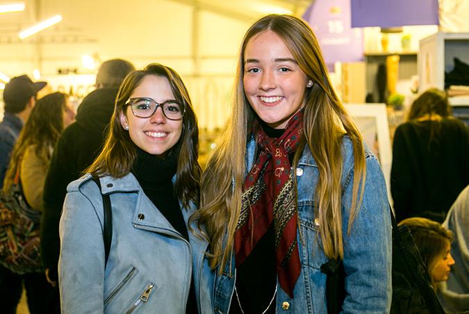 Catalina Reyes y Florencia López