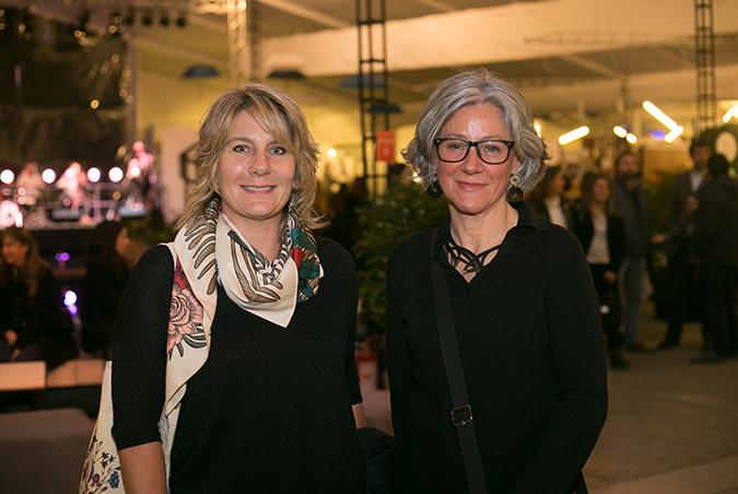 Claudia Cereghino y Ana María Padruno