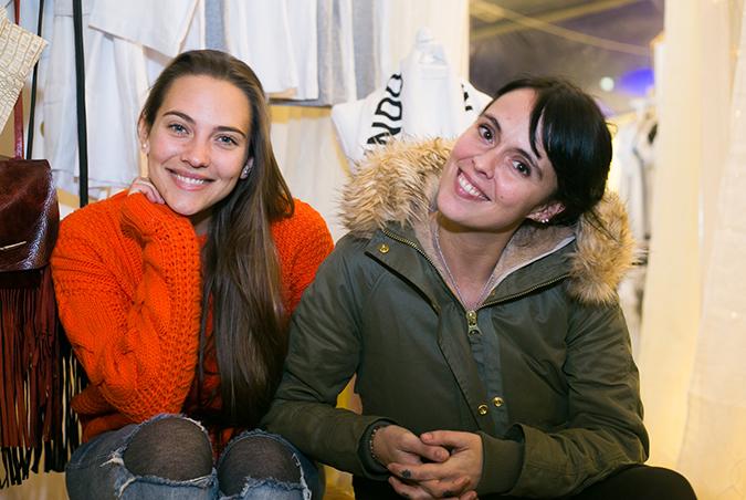 Constanza Mengotti y Leila Mathews