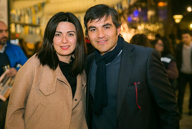 Loreto Massanes y Luis Felipe Ross