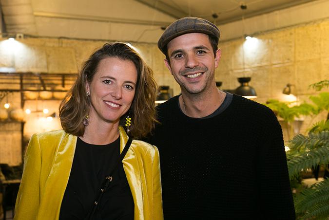 Paula Urenda y Francisco Benapres