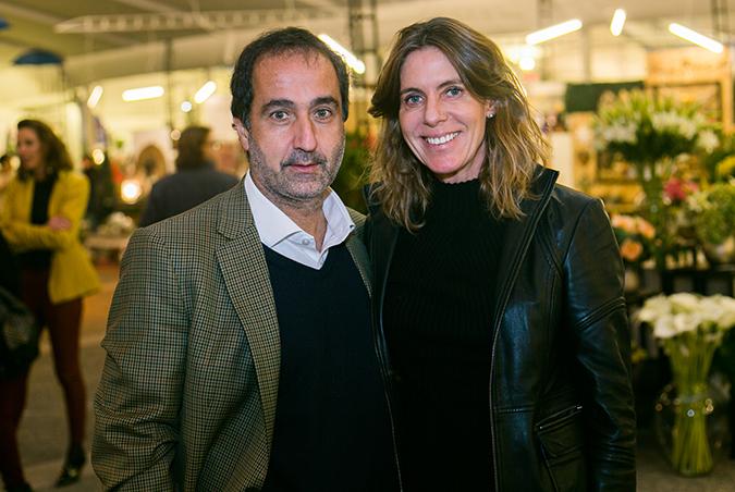 Pablo Zalaquett y Alicia Serani