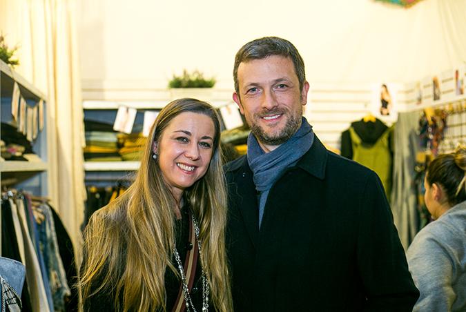 Sandra Rusch y John Chamberlain