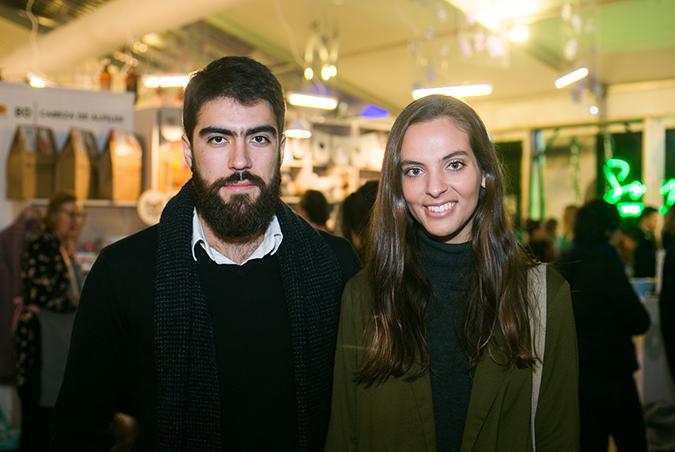 Sebatian Urquiza y Antonia Plancic