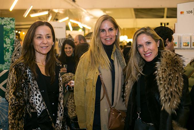 Teruca Matta, Verónica Romero y Francisca Martínez