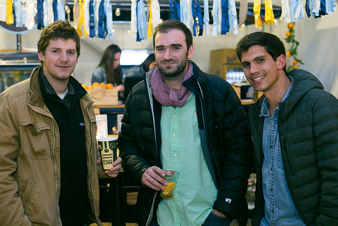 Tomás Guilisasti, Tomás Torres y Juan Pablo Castillo