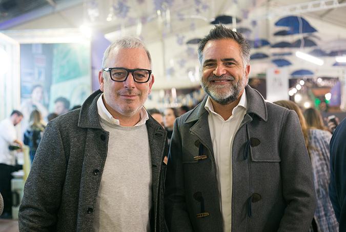 Zigor Uznaca y Claudio Marcone